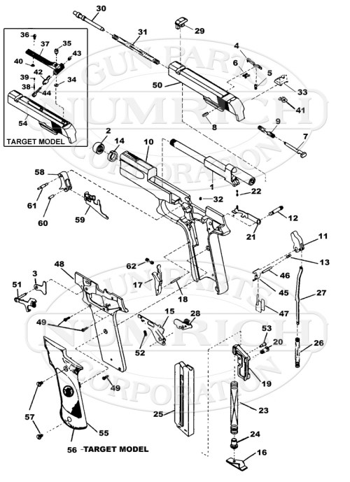 small resolution of smith wesson auto pistols 422 gun schematic