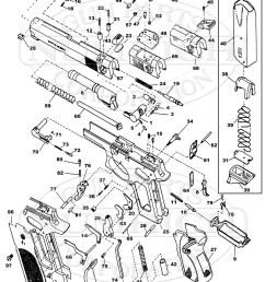 smith wesson auto pistols 745 45 series gun schematic [ 800 x 1094 Pixel ]