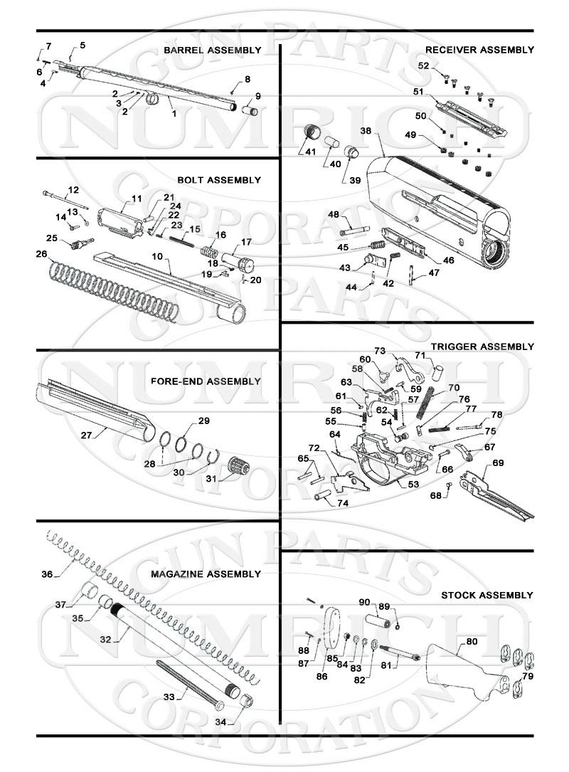 hight resolution of stoeger shotguns semi auto shotguns 3500 gun schematic