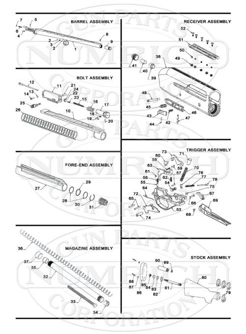 small resolution of stoeger shotguns semi auto shotguns 3500 gun schematic