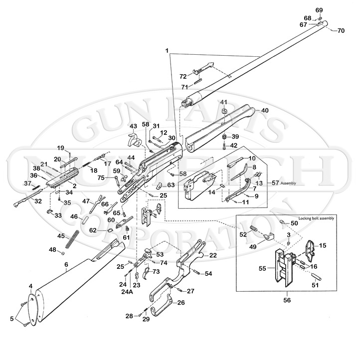 Diagram Browning A Bolt Parts Diagram