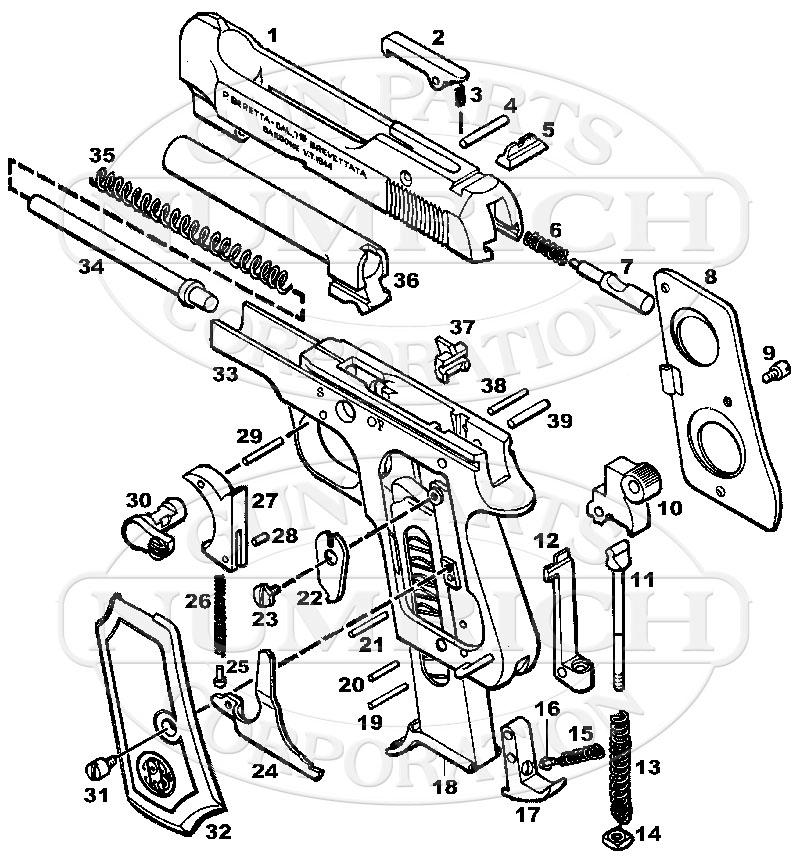 Chevy Beretta Bedradings Schema