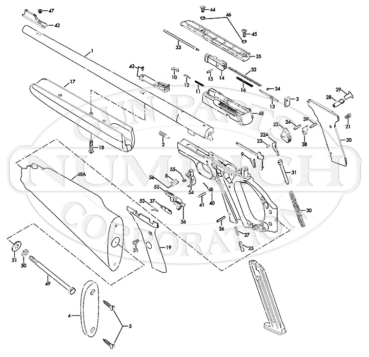 Kimber 1911 Parts Diagram Kimber 1911 Parts Diagram