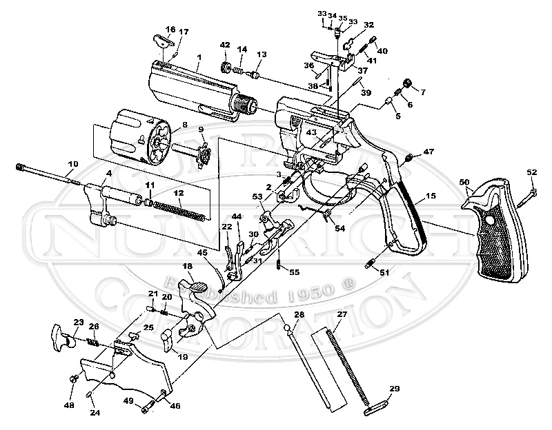 Taurus Revolver Schematic Pictures to Pin on Pinterest
