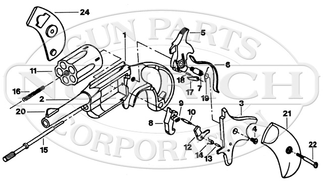 Freedom Arms Mini Revolver Parts And Schematic