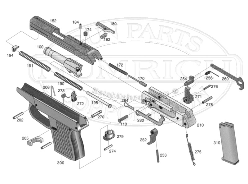 kel tec pf9 parts diagram 49cc mini quad wiring gun numrich p 32