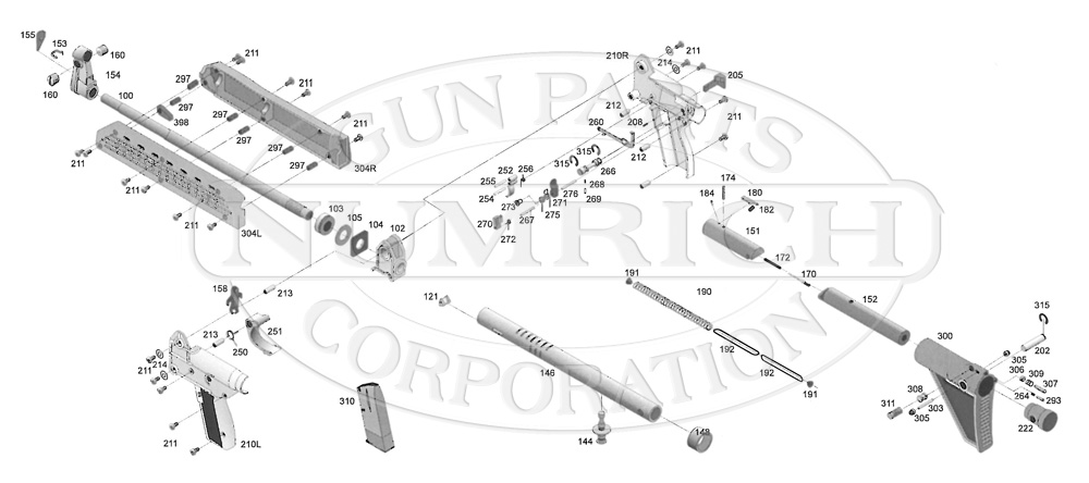 kel tec pf9 parts diagram hunter ceiling fan with light wiring gun numrich sub 2000