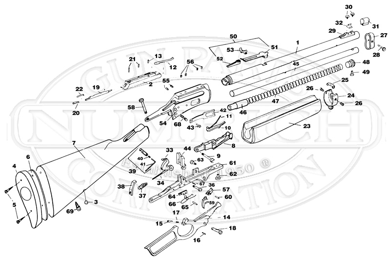 Marlin Model 80 Schematic, Marlin, Free Engine Image For