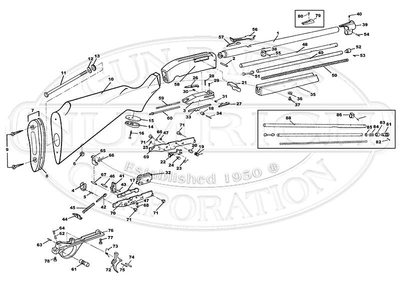 marlin glenfield model 60 parts diagram avital 4113 remote start wiring 444 mossberg 464 ~ elsavadorla