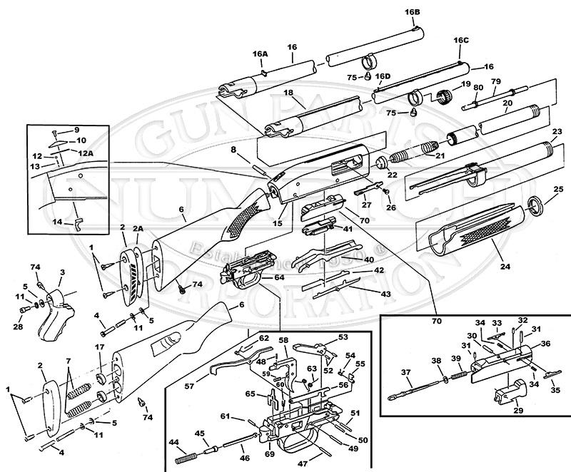Diagram Further Mossberg 500 Trigger Assembly Parts On Mossberg