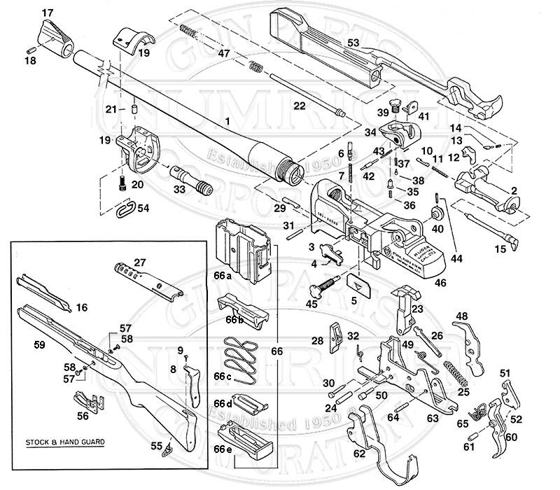 Ruger Mini 30 Parts Diagram