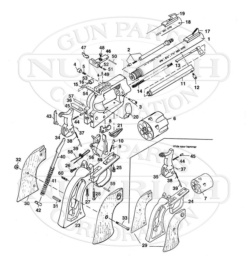 Ruger Mini-14 Parts Diagram