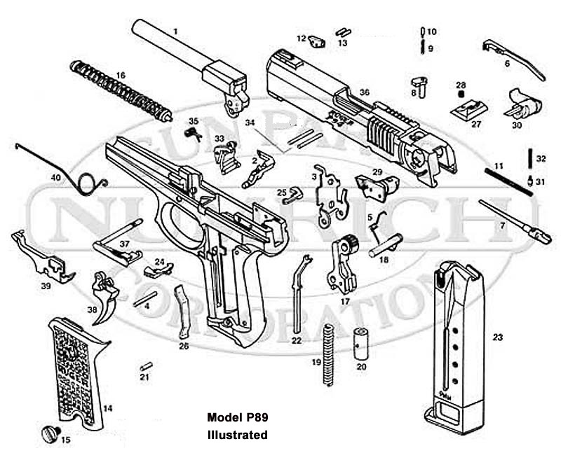 Mossberg 500 Parts Schematic Charles Daly Parts Schematic