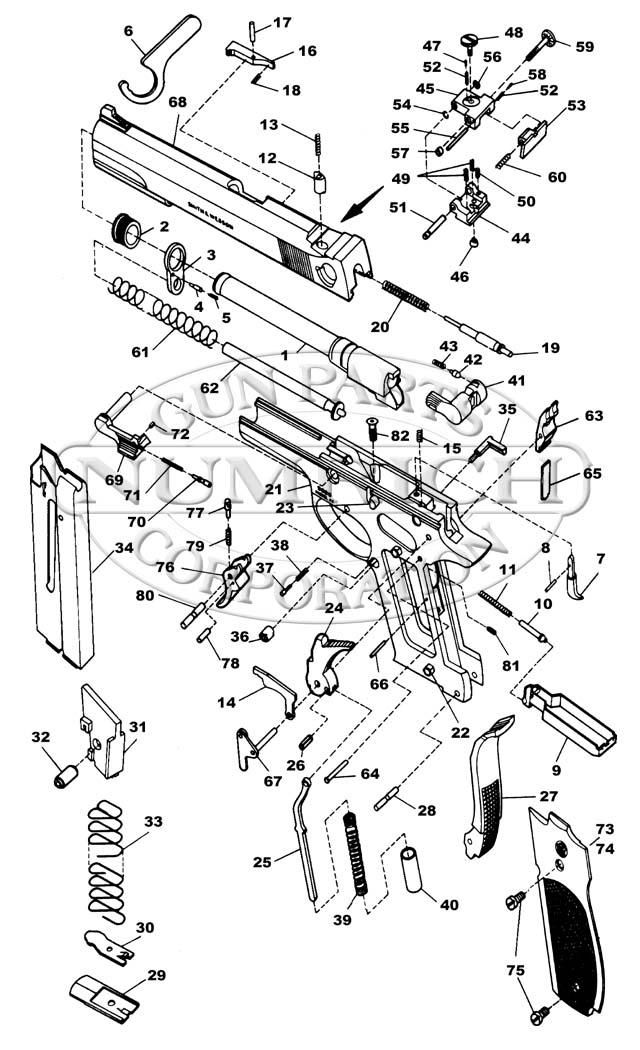 Ruger P95 Schematic
