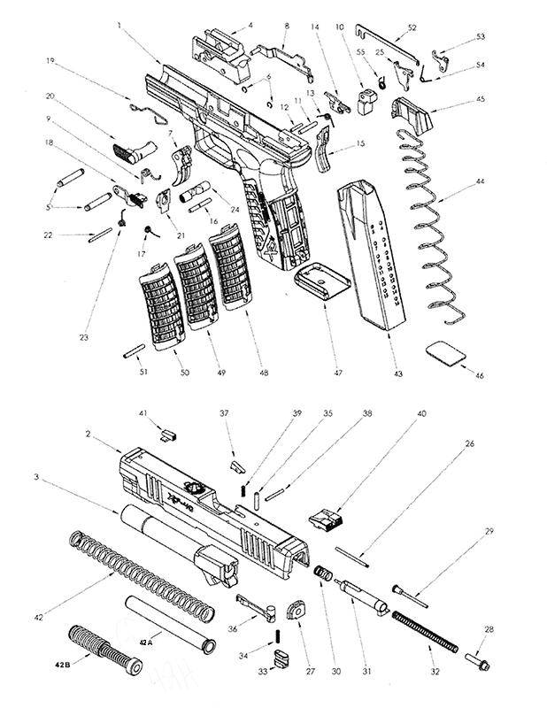 parts schematic xdm 5.25