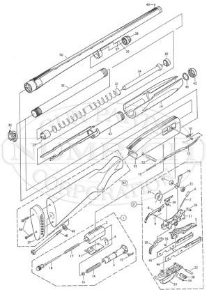PARTS LIST WIN 1300 Accessories | Numrich Gun Parts