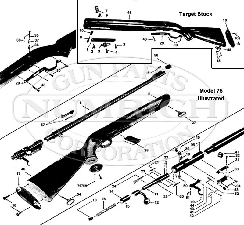 Winchester Model 90 Diagram, Winchester, Free Engine Image