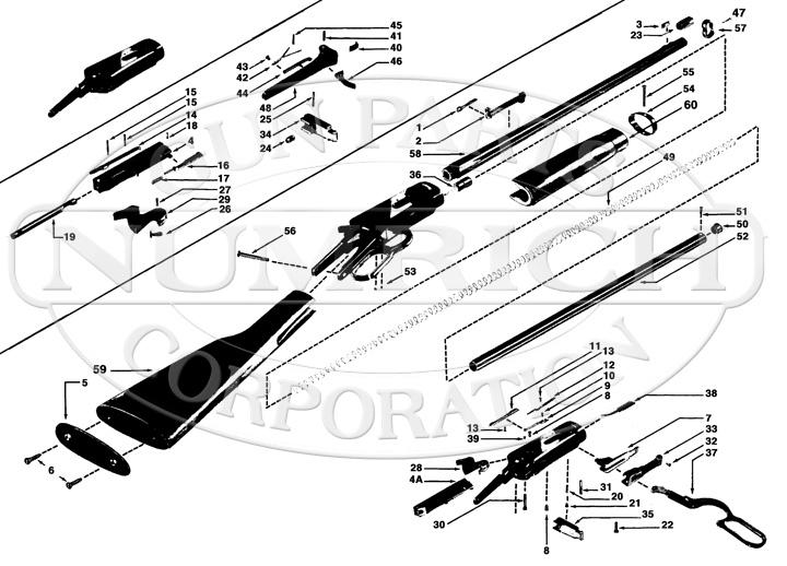 winchester model 94 parts diagram contactor wiring ac unit pre 64. accessories | numrich gun