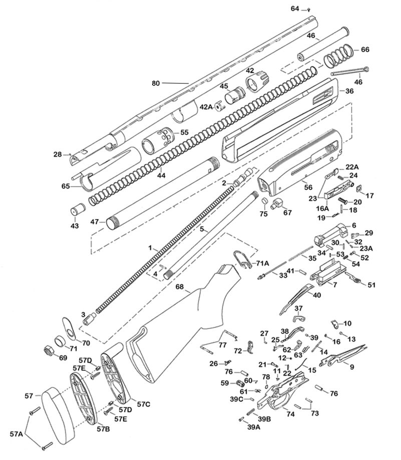 Shotgunworld.com • Winchester 1400 MK II Specs