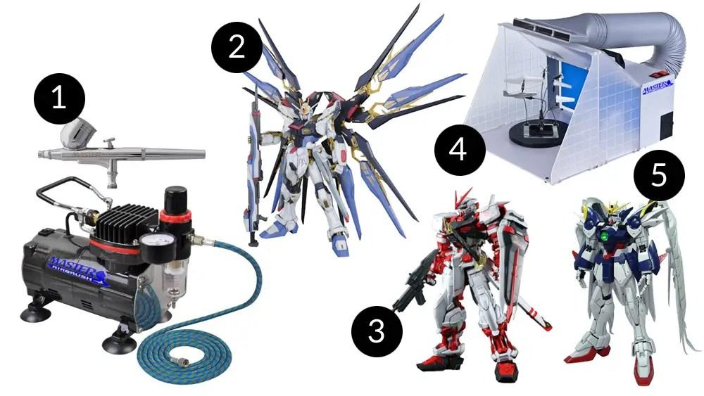 Gifts for Expert Gundam Builders