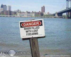 Danger River Filled With Lost Firearms