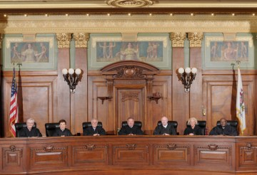 Illinois Supreme Court-Justices 2019