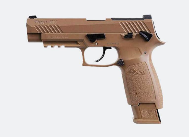 Sig sauer M17 co2 air pistol for hunting