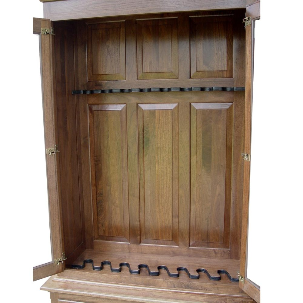 Amish Woodworking 50515 Heritage 8 Gun Cabinet - Solid