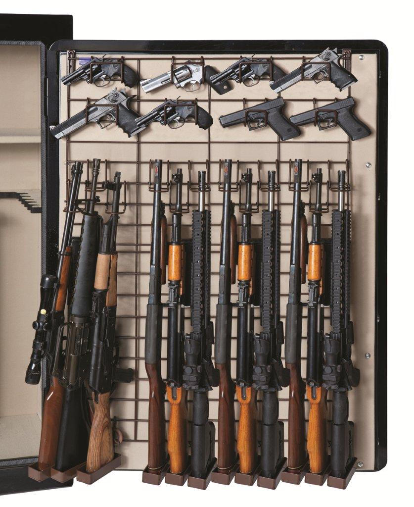 Rack'em 6057 Maximizer Full Door 12 Rifle 26 Pistol Rack