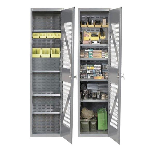 SecureIt Tactical Steel Gun Cabinet1824AM Ammo Storage Cabinet TGS1824AM