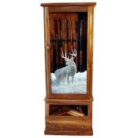 Scout 12-Gun Cabinet - Oak