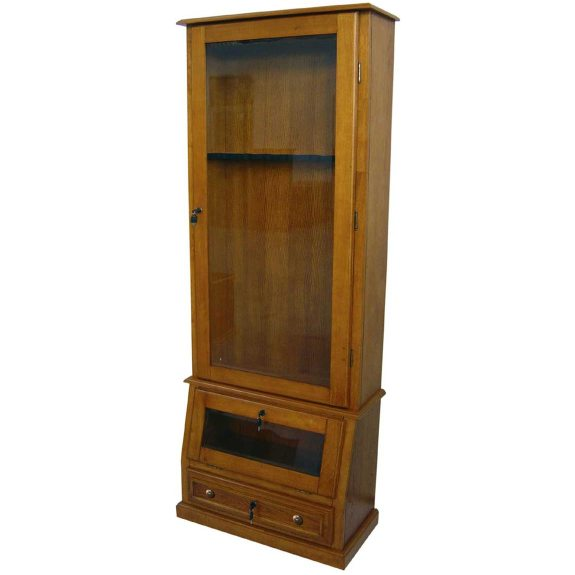 Scout 8Gun Cabinet RTA  Oak