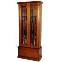 Scout 1119 Gun Cabinet - Solid Pine - 12-Gun GS1119