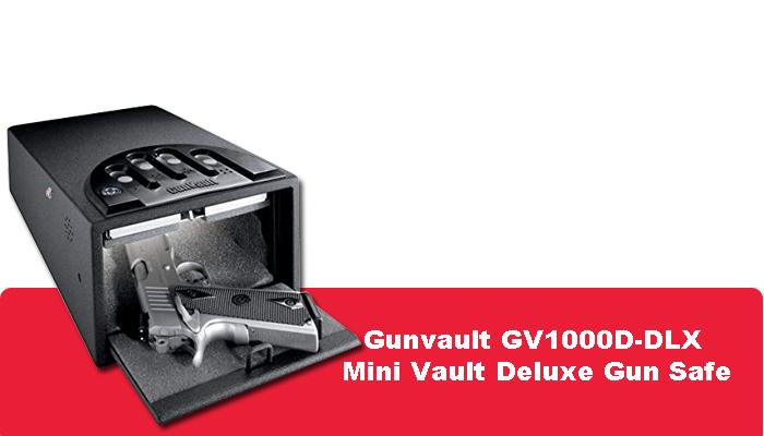 Gunvault GV1000D-DLX Mini Vault Deluxe Gun Safe Review