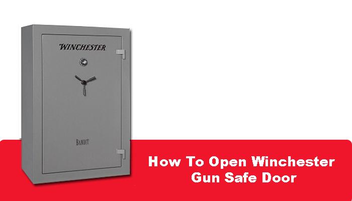 How To Open Winchester Gun Safe Door