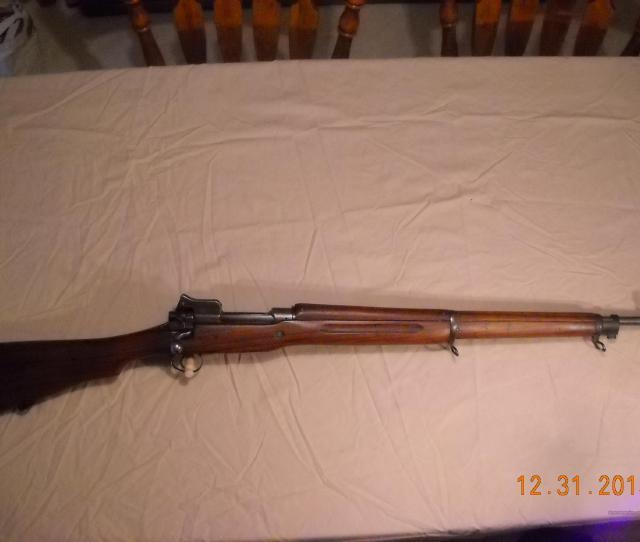 Ww1 Us Model 1917 Eddystone Rifle Guns Rifles Military Misc Rifles Us