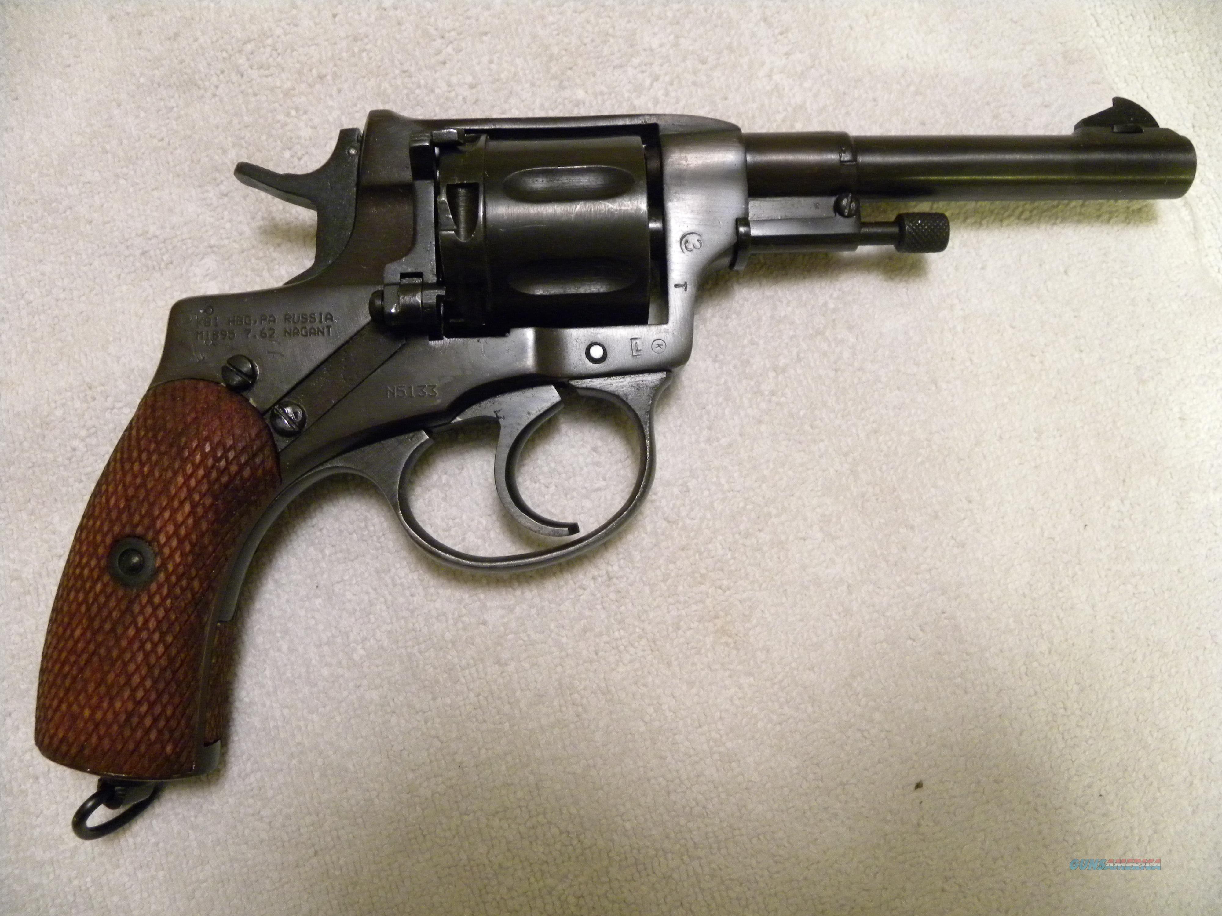 russian nagant pistol 1916