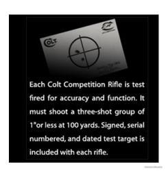 colt lightning 22 cal parts colt competition rifle csr 1516 223 5 56 [ 1650 x 1650 Pixel ]