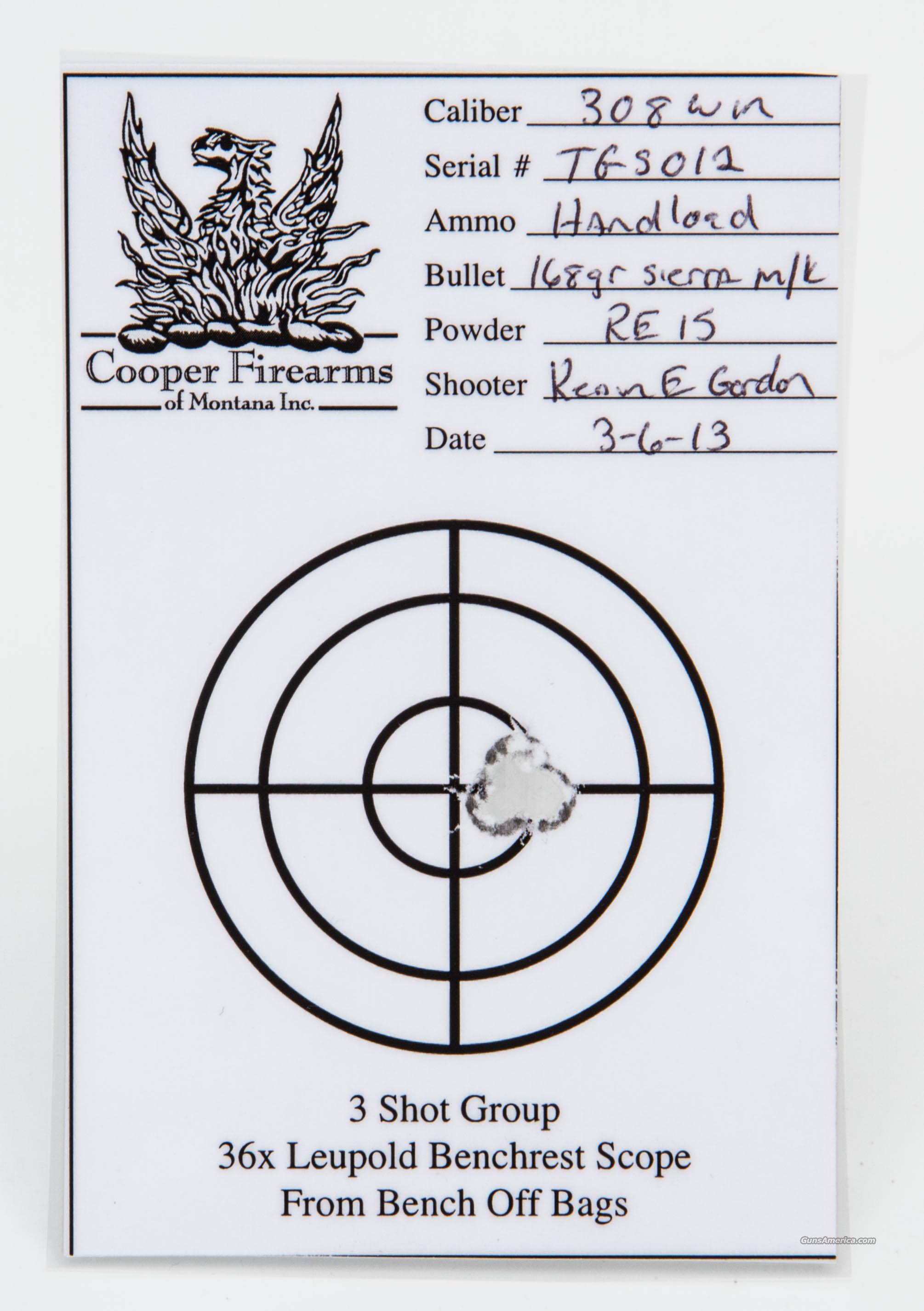 Cooper Firearms Model 54 Schnabel .308 Win 22