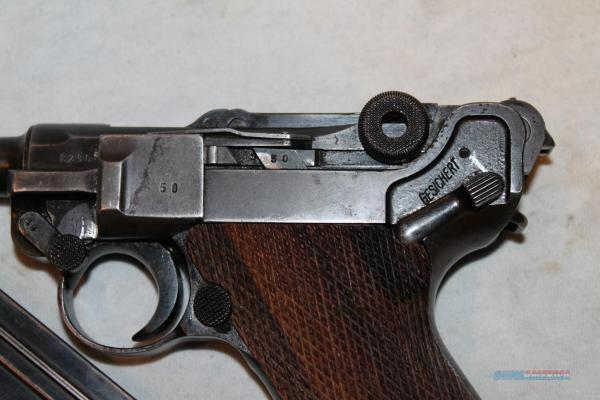 Mauser Luger S 42 - Year of Clean Water