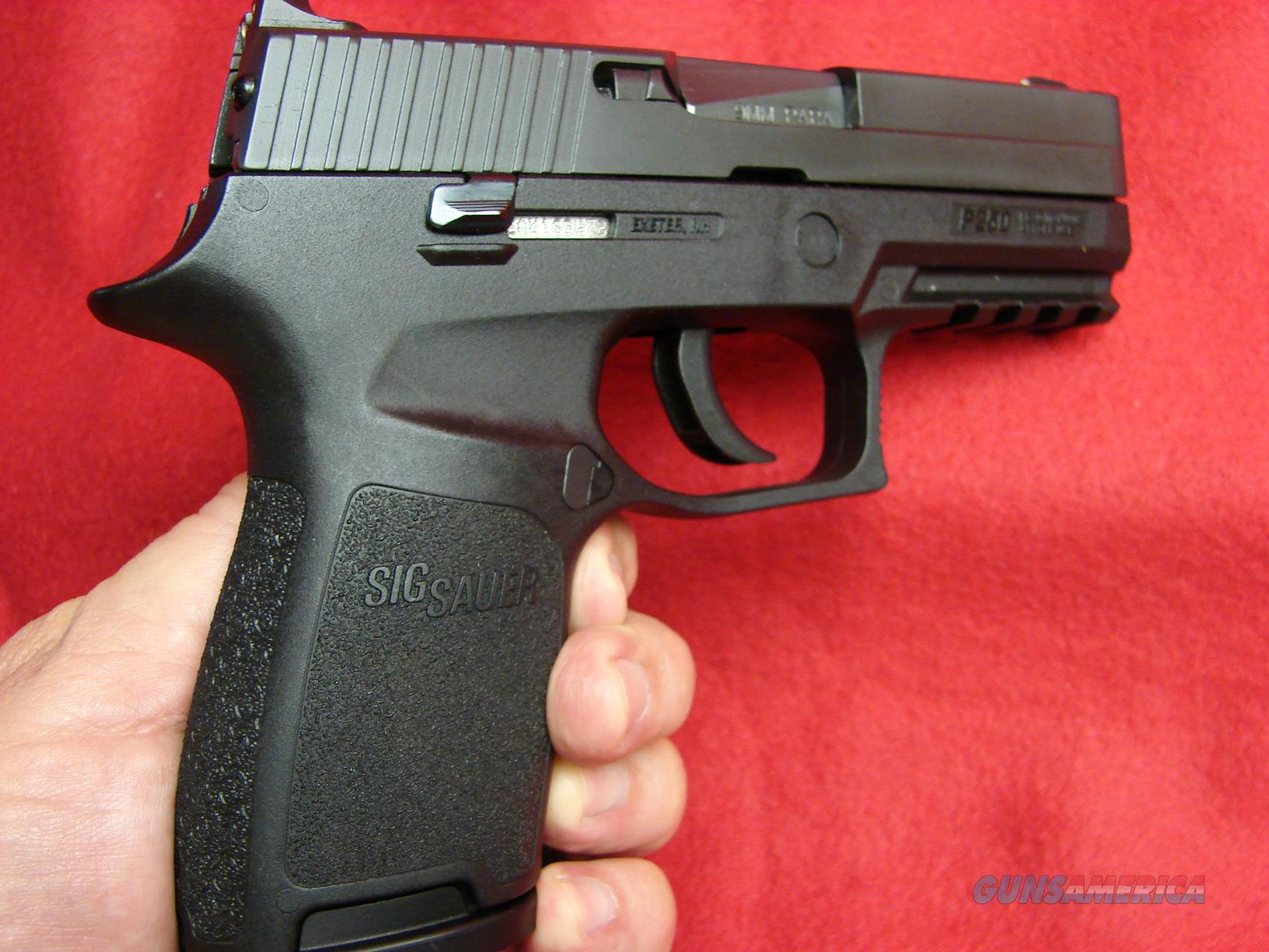 Lightly Used - Sig Sauer P-250 Compact 9mm - w/... for sale