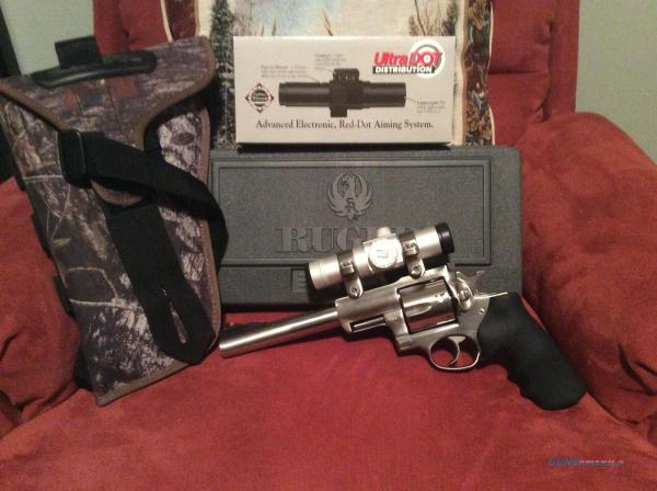 Ruger Super Redhawk 44 Mag With Scope And Holst