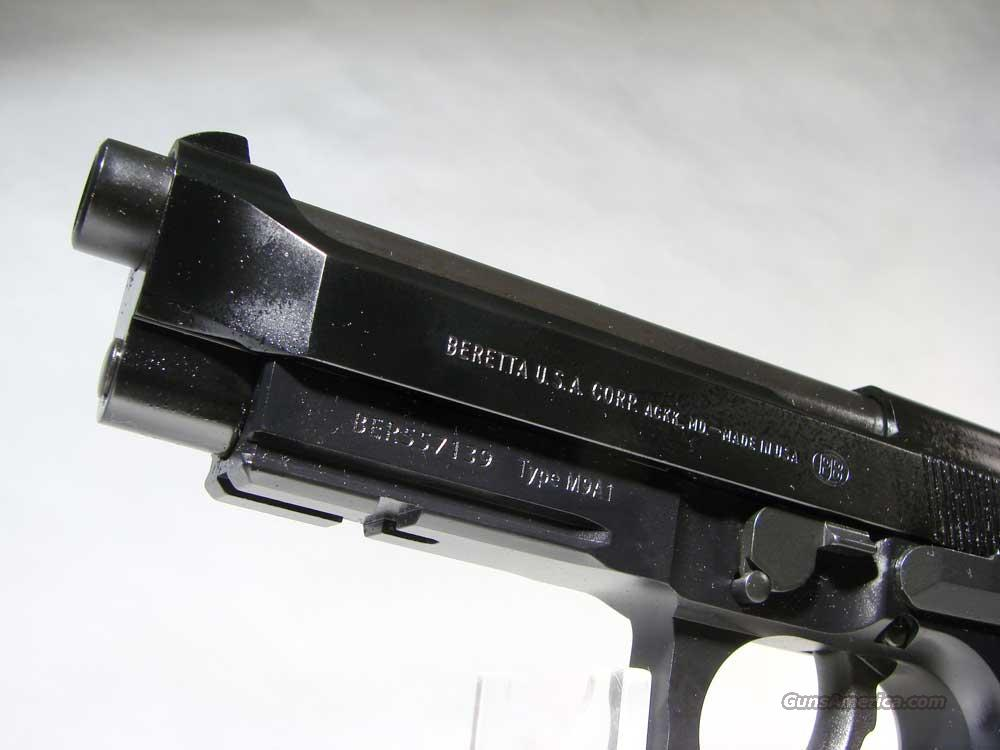 Beretta 92fsM9A1 with Light rail New in box for sale