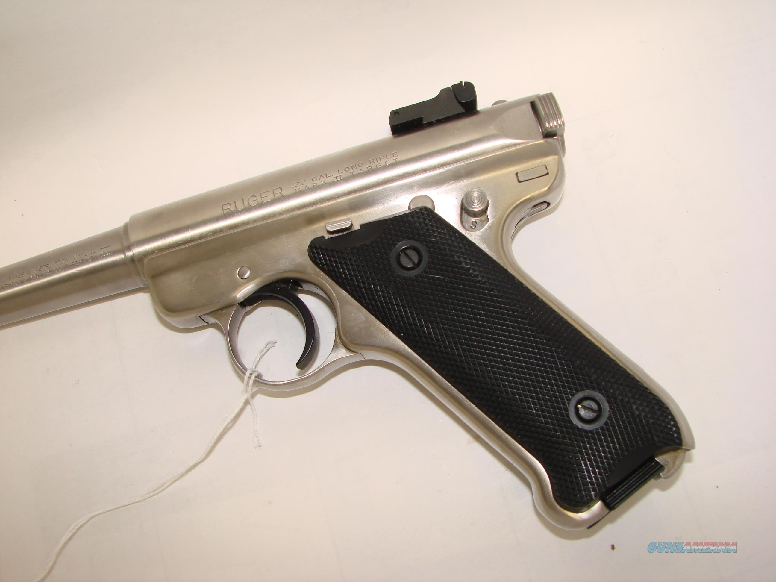 Ruger Mkii Stainless For Sale