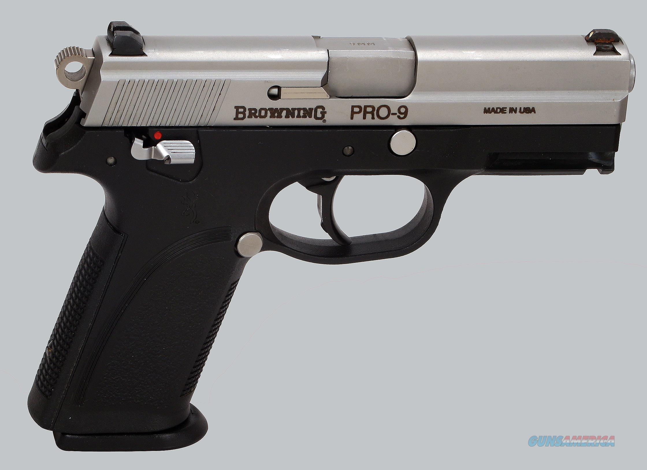browning 9mm pro 9