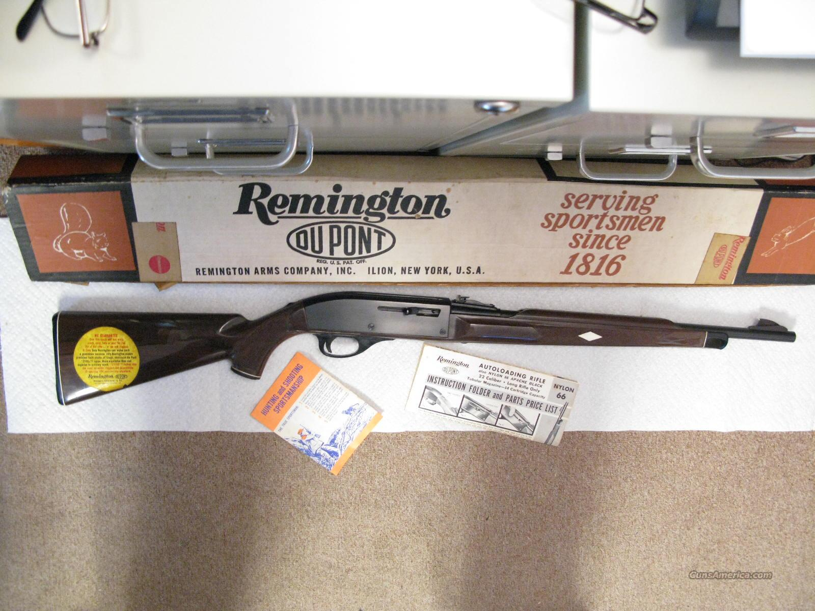 hight resolution of nylon 66 22 lr only mohawk brown new in box guns rifles remington
