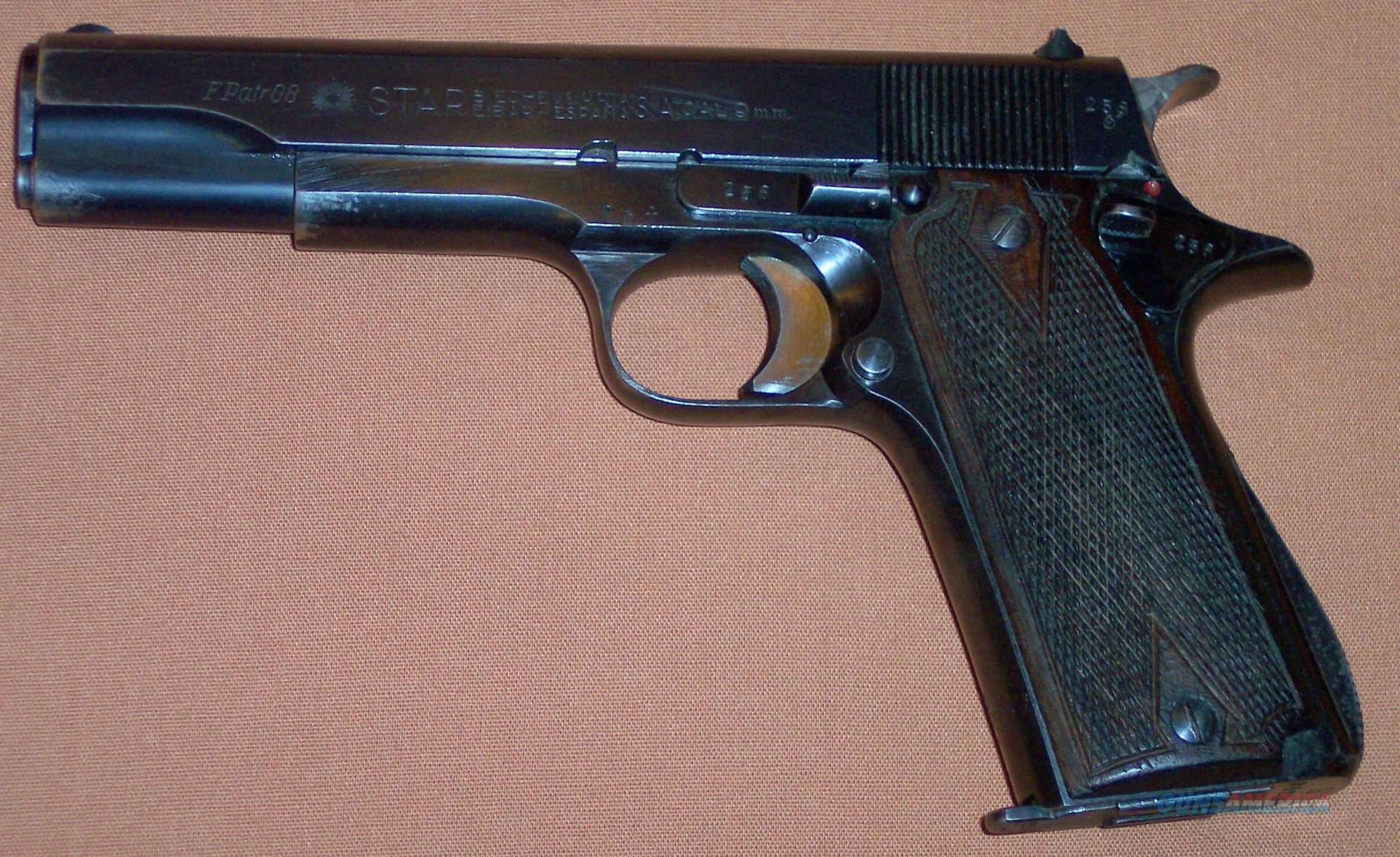 hight resolution of star model b lpn west german police 9mm para luger guns pistols