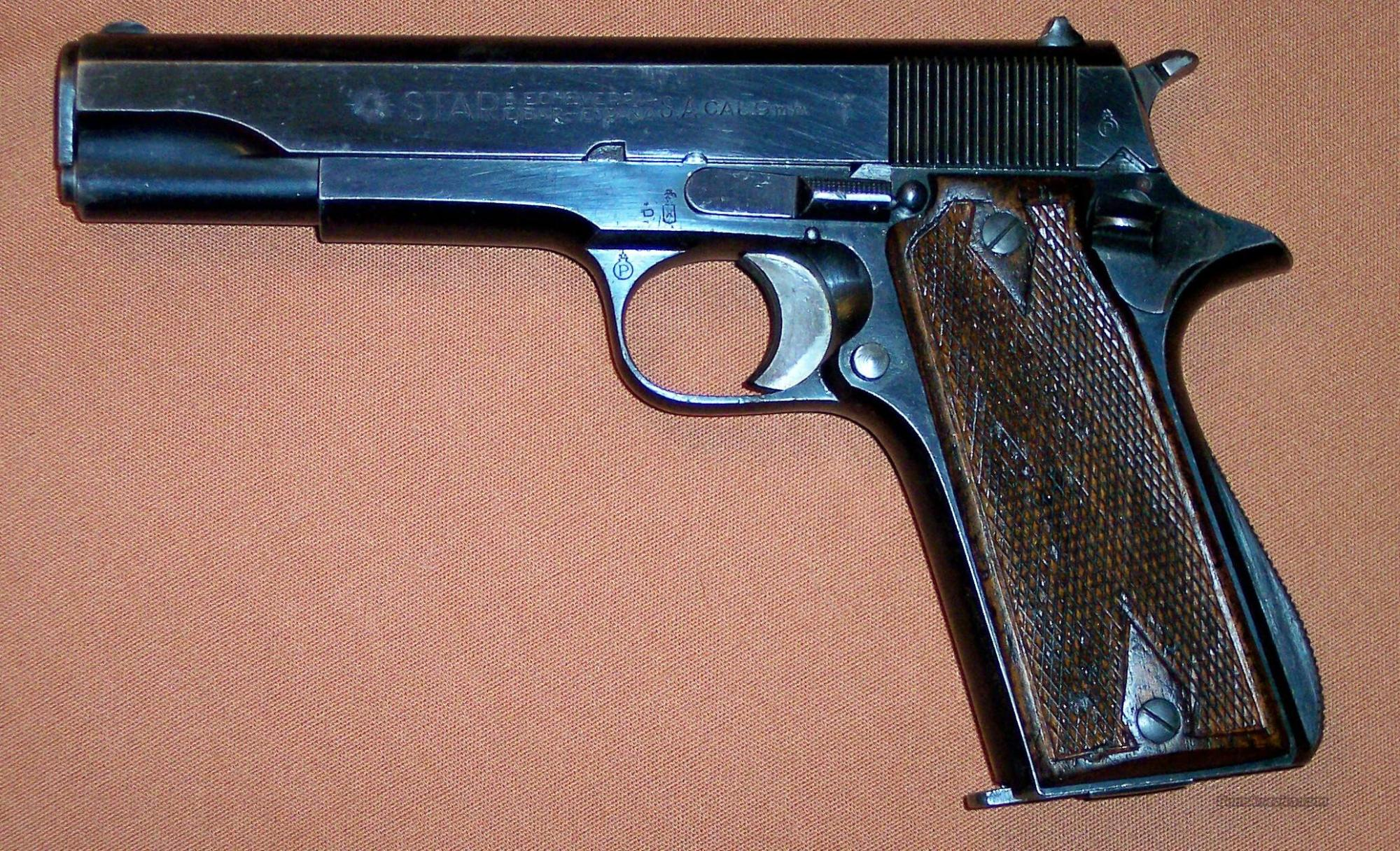 hight resolution of star model b 9mm made 1945 guns pistols star pistols