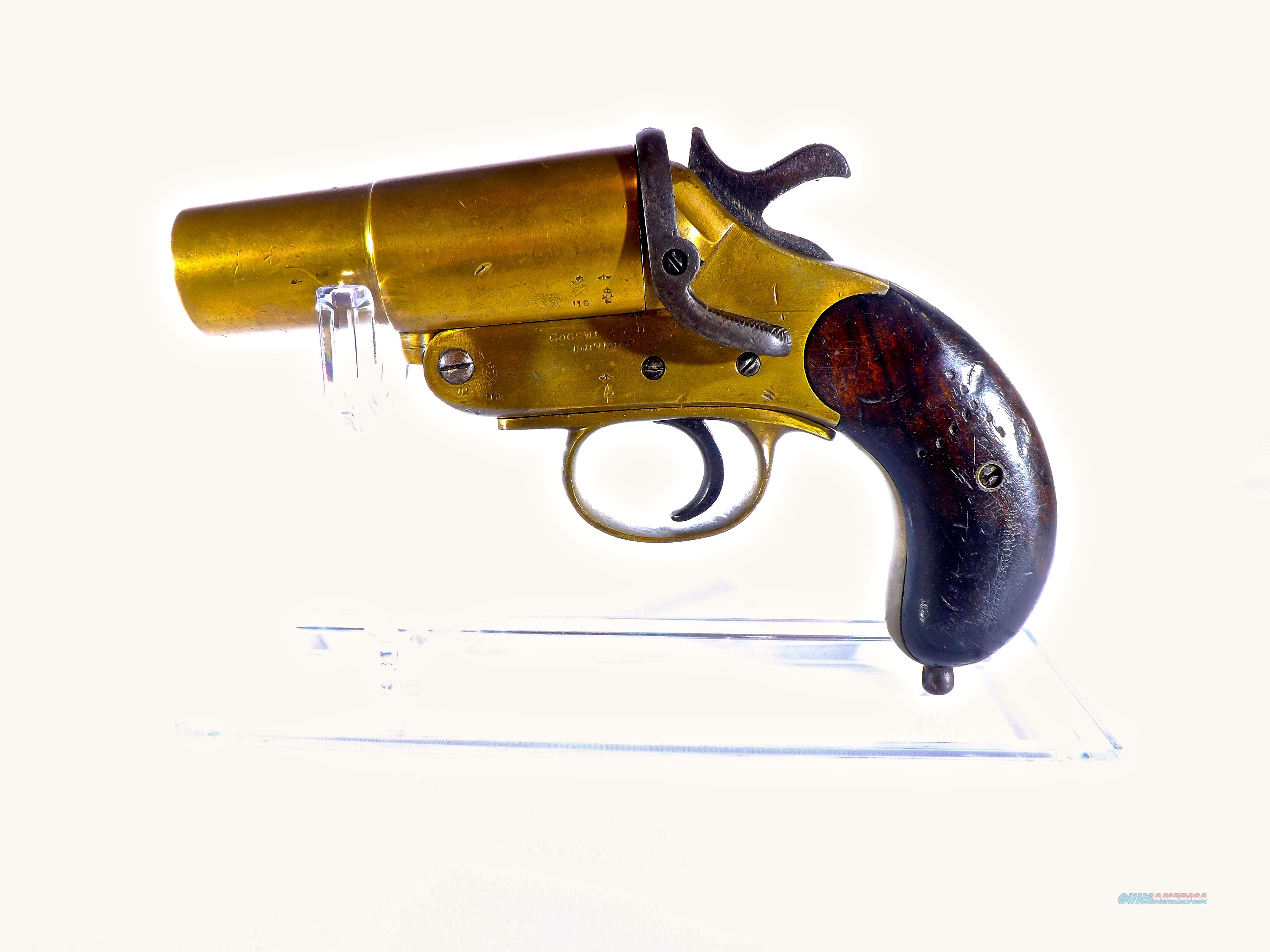 World War 1 Cogswell And Harrison Flare Gun For Sale