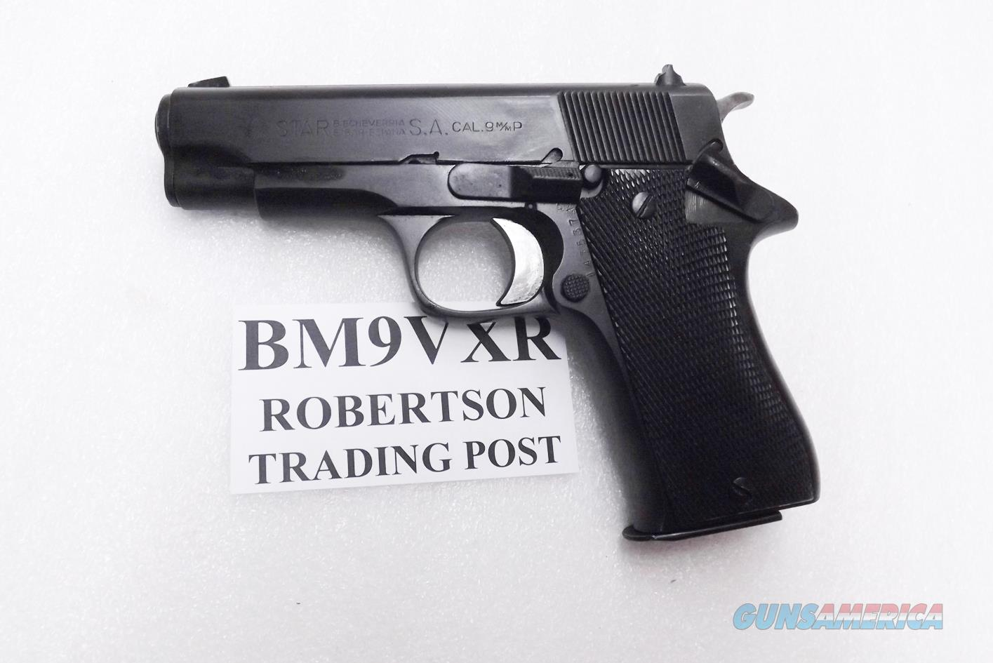 hight resolution of star spain 9mm model bm 9 compact spanish guardia 1970s dura coat refinish vg exc 3 3 4 inch pd size colt defender ancestor steel 9 shot bm9 bm 9 spain